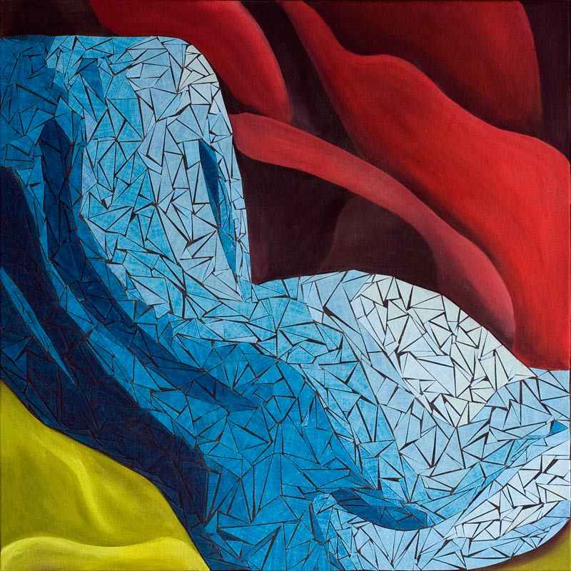 contemplation - figurative painting