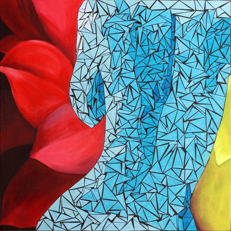 Clifton - forgive me Large Art Print