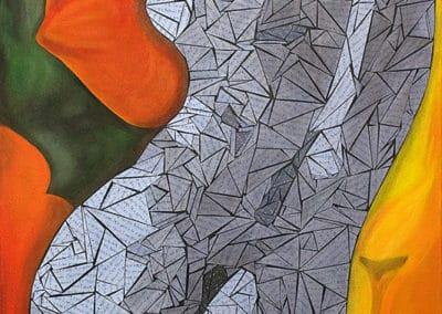 Joyful Dancer - Figurative Painting
