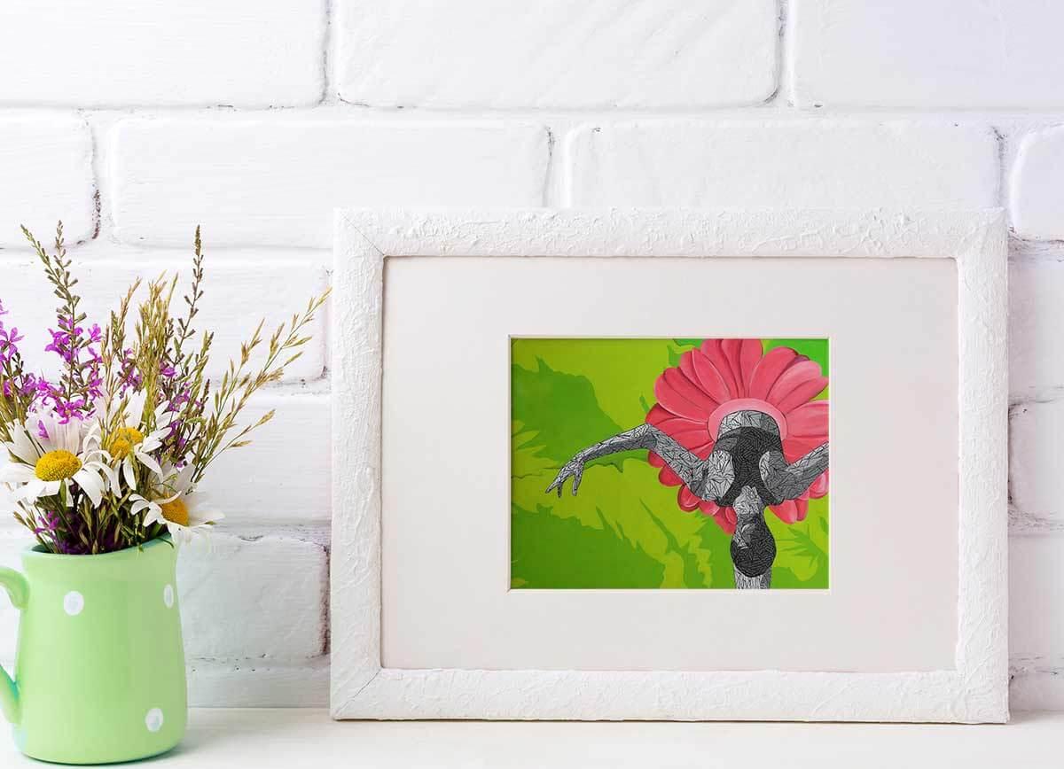 Gicleé Print of Ballerina - Susan Clifton Art Prints