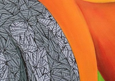 DETAIL - I am worthy - Susan Clifton Art Prints