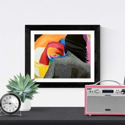 Inspiration art print by Susan Clifton