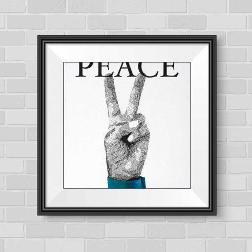 Peace - Susan Clifton Art Prints