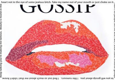 Susan Clifton - Gossip Print