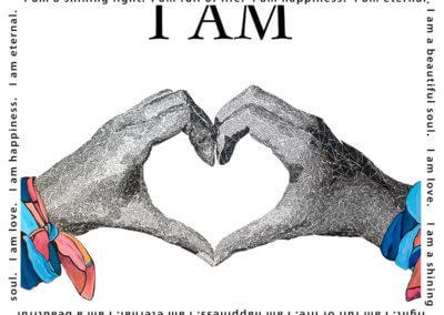 I am Love - Susan Clifton Art Prints
