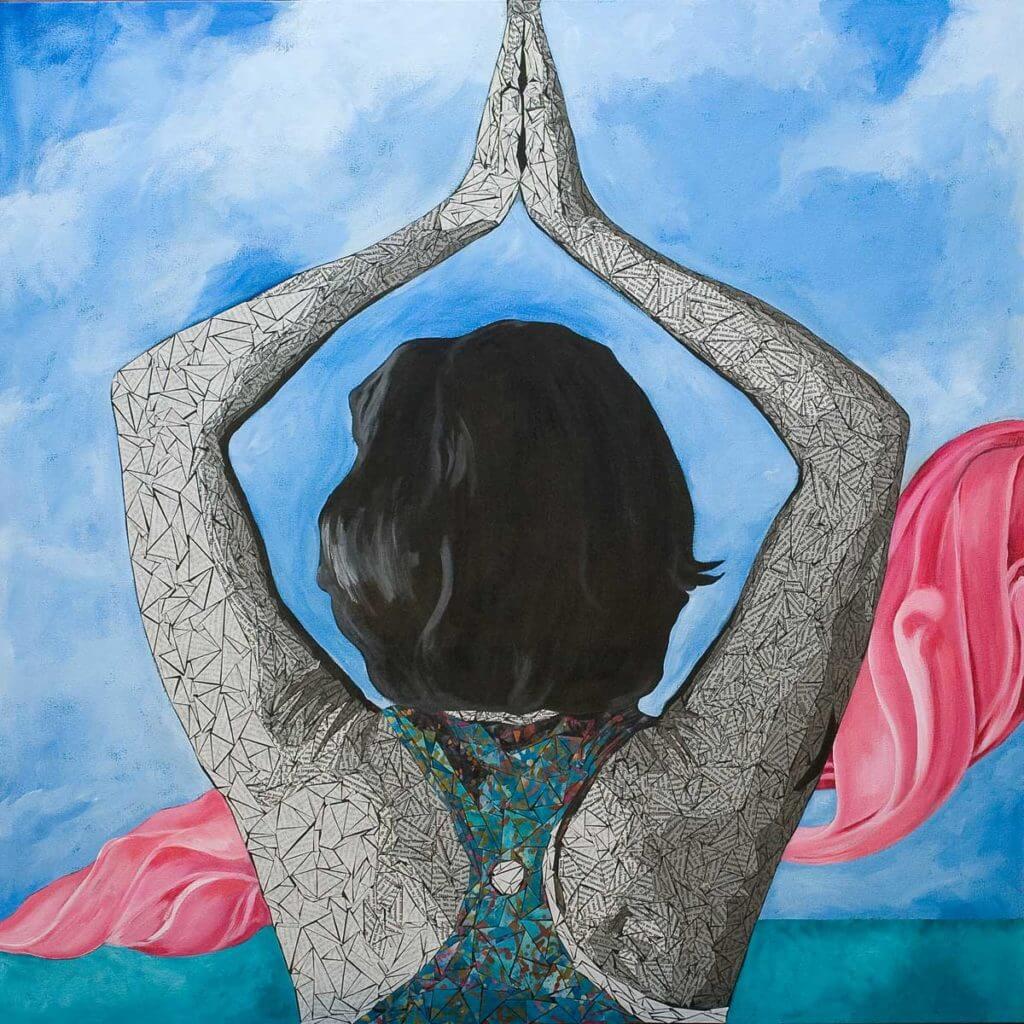 Dear You - Susan Clifton Large Art Print