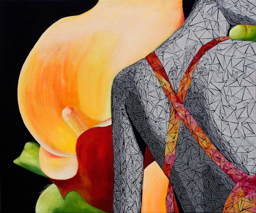 Beauty Original Artwork by Susan Clifton