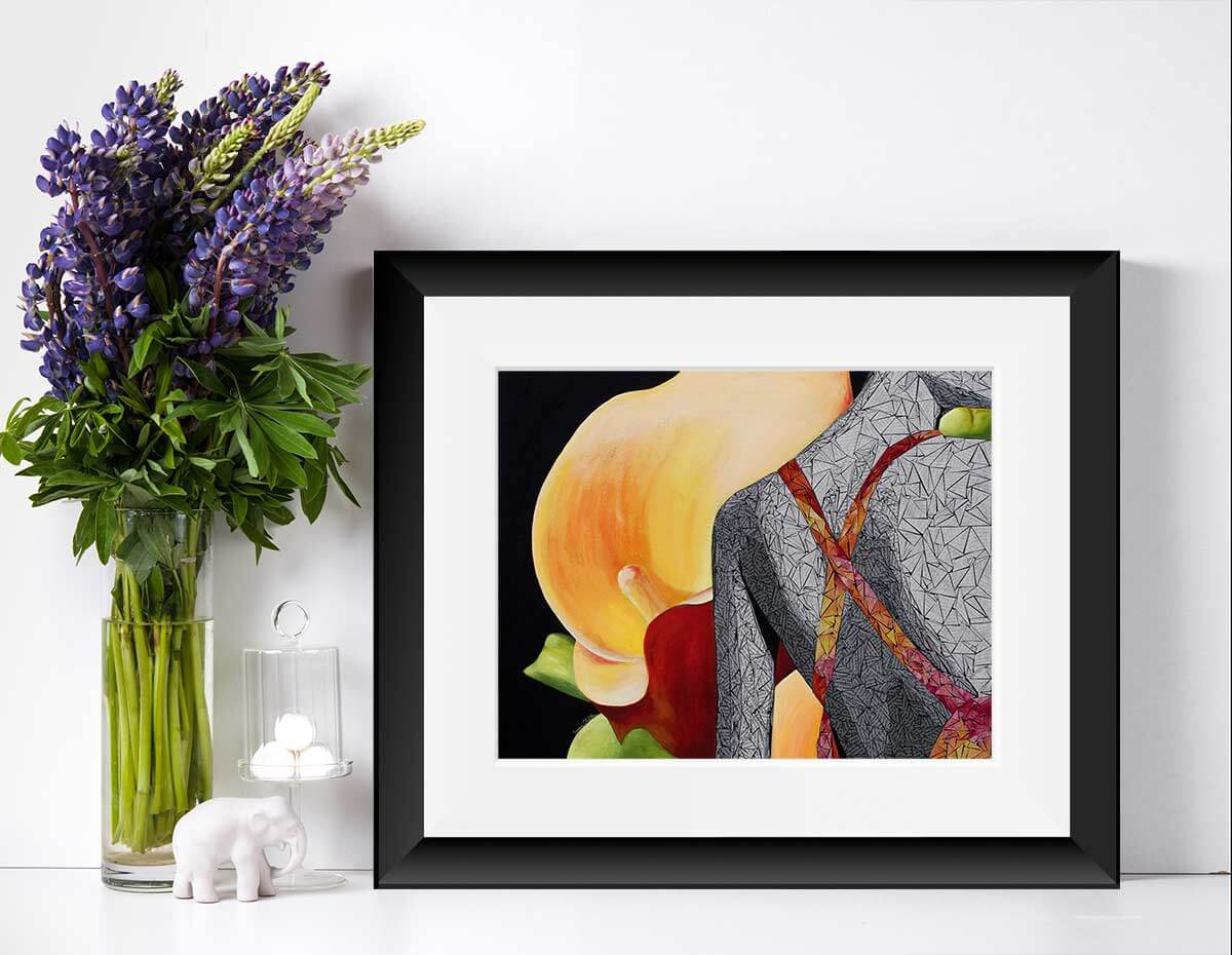 Gicleé Print of Just the way your are