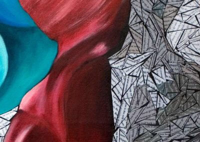 DETAIL - Letting Go - Susan Clifton Art Prints