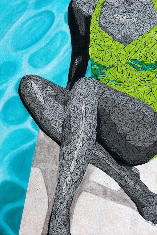 Susan Clifton - Loving Life Art Print