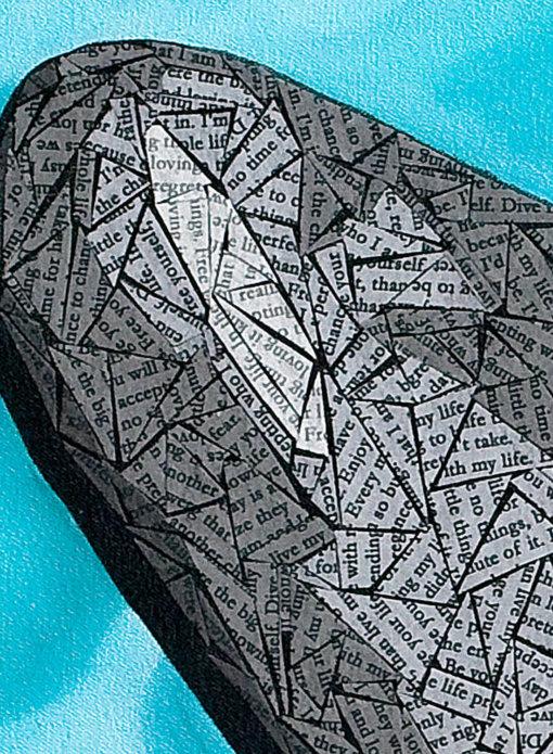 Susan Clifton - Loving Life Art Print DETAIL