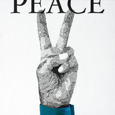 Peace - Susan Clifton Art Prints