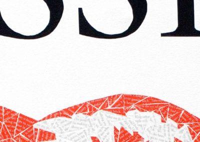 DETAIL - Gossip Painting - Susan Clifton Art Prints