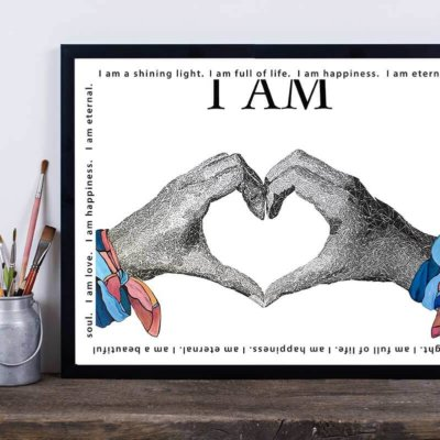 I am Love - Susan Clifton Art Prints