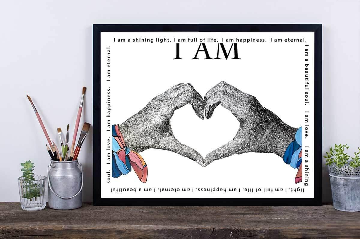 Gicleé Print of I am Love
