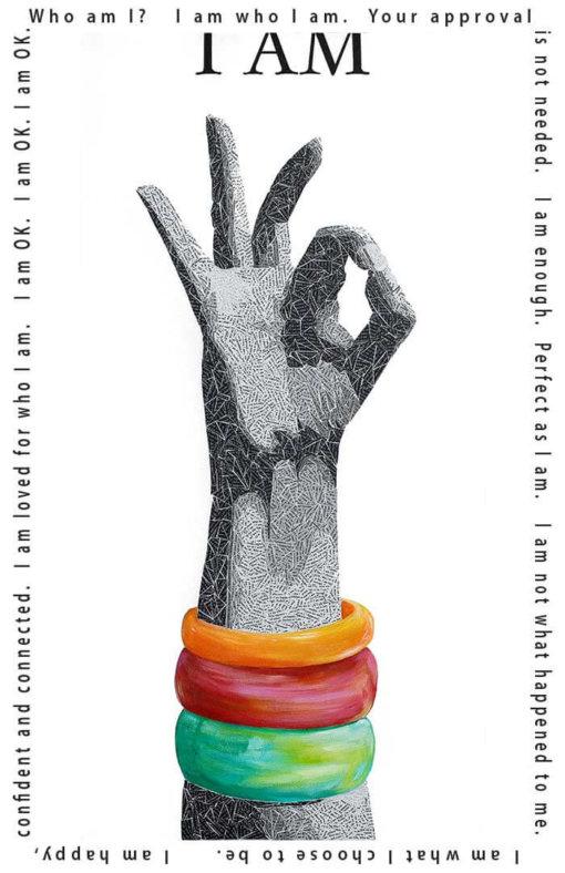 I am OK - Susan Clifton Art Prints