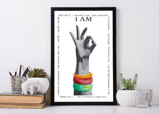 Susan Clifton - A am OK Art Print