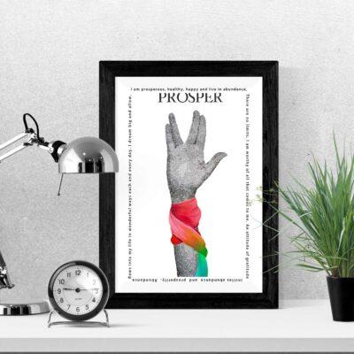 Prosper Art Print