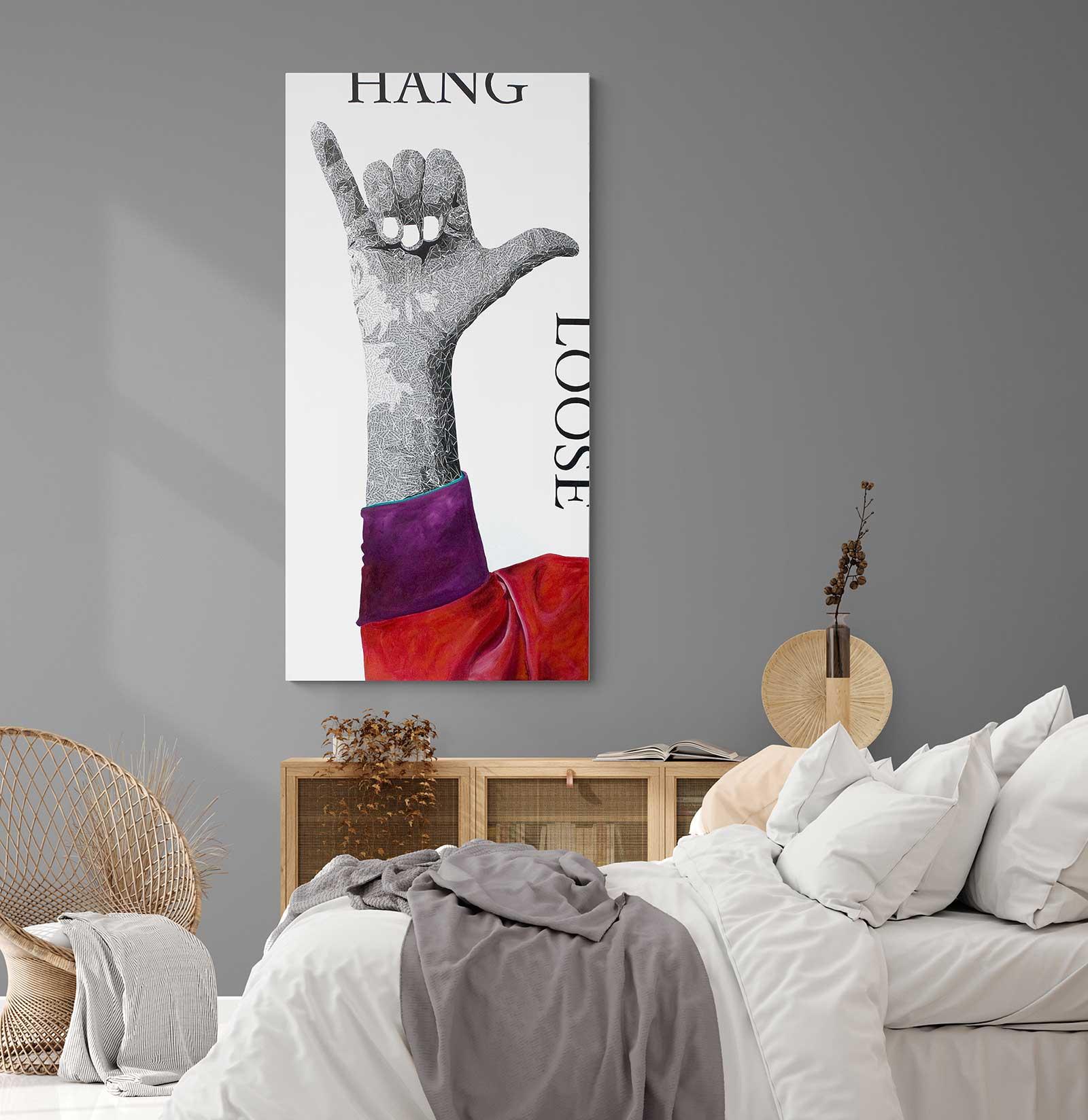 Hang Loose Artwork - interior photo