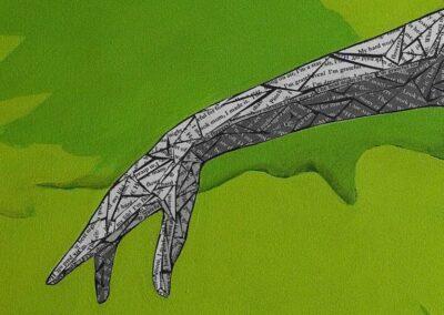Ballerina Detail of Hand