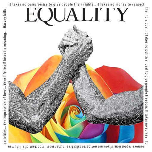 Harvey Milk Quote - Equality Art