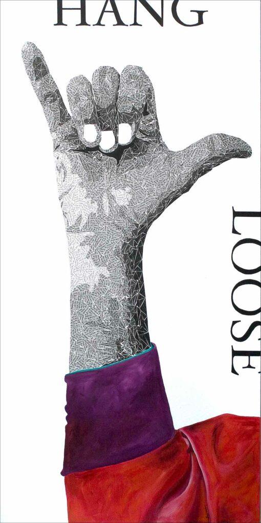 Hang Loose Artwork by Susan Clifton 30x60