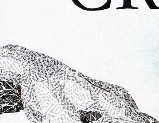Paper Art Print by Susan Clifton - Create - Detail 1
