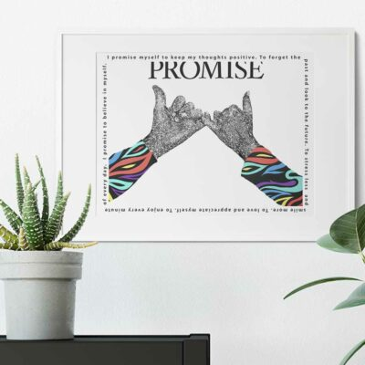 Paper Art Print of Promise