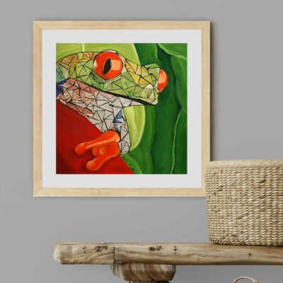 Tree Frog Artwork by Susan Clifton