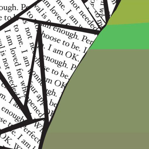 I am OK Digital Artwork Detail