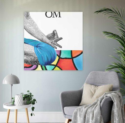 OM Artwork by Susan Clifton