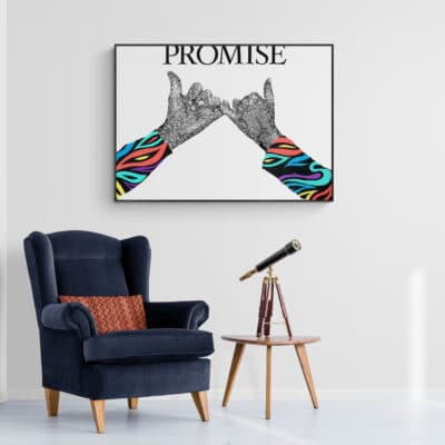 Promise - Pinky promise artwork