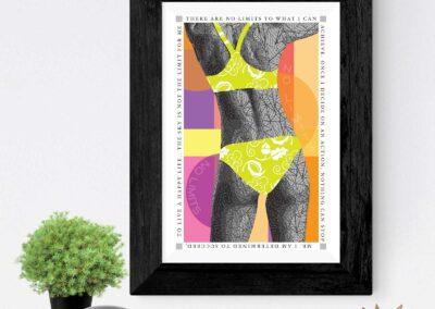 No Limits by Susan Clifton | Paper Art Prints