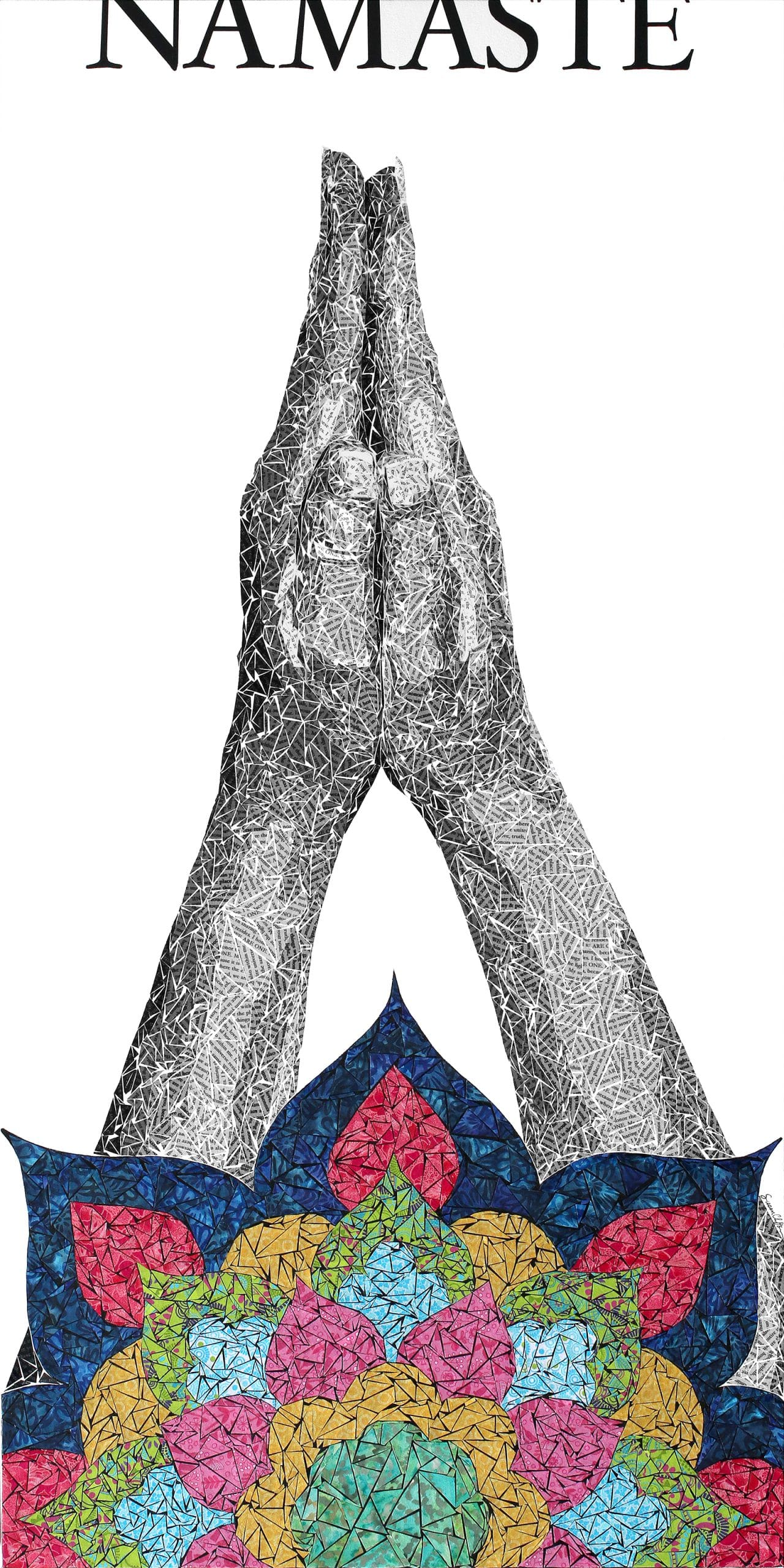 Namaste | Susan Clifton | 30x60