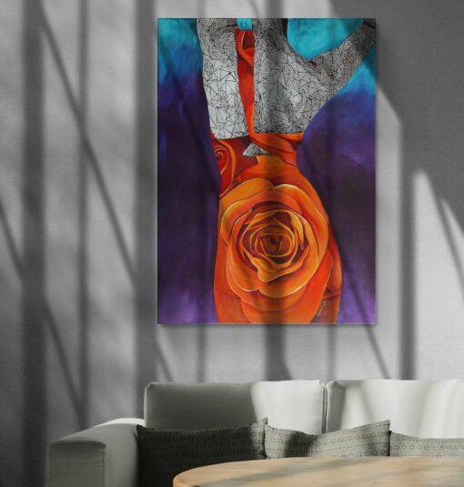 Rise Up Original Artwork by Susan Clifton