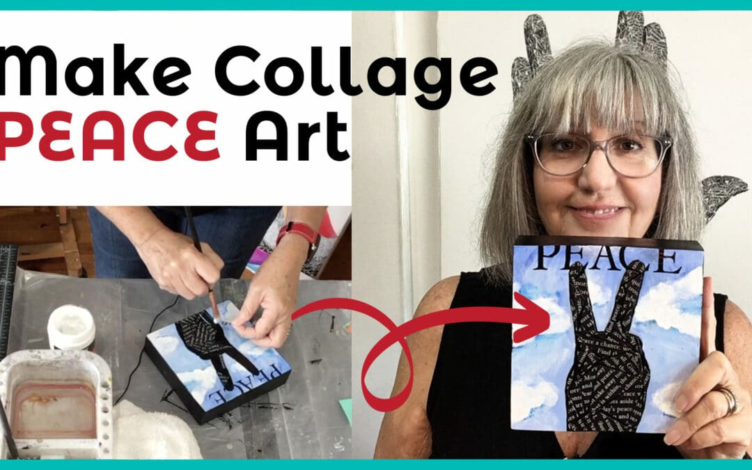 How to paint a loose blue sky in acrylic – acrylic painting tutorial on YouTube