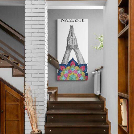 Namaste original artwork