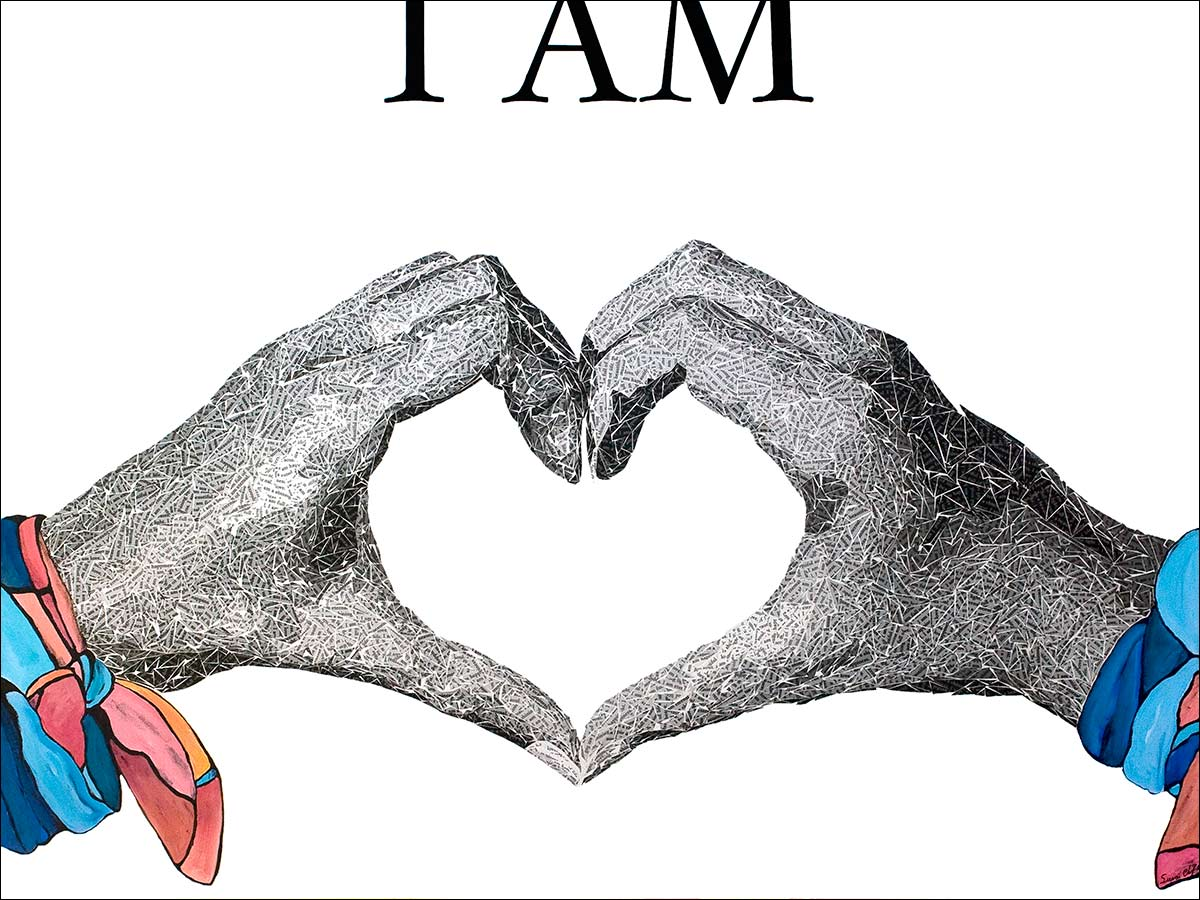 i am love painting by Susan Clifton