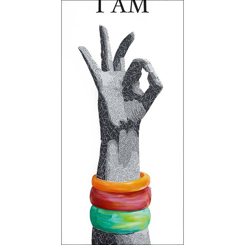 I am OK Painting by Susan Clifton