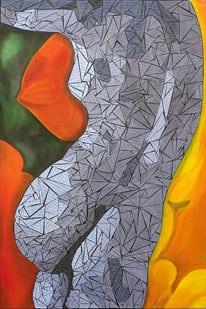 Fabric Mosaic Painting