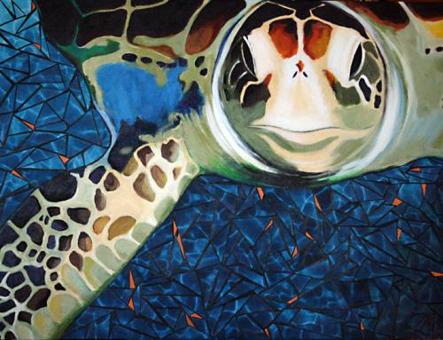 Sea Turtle Painting