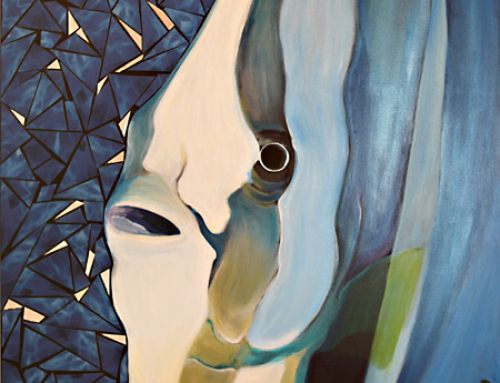 Spade fish painting